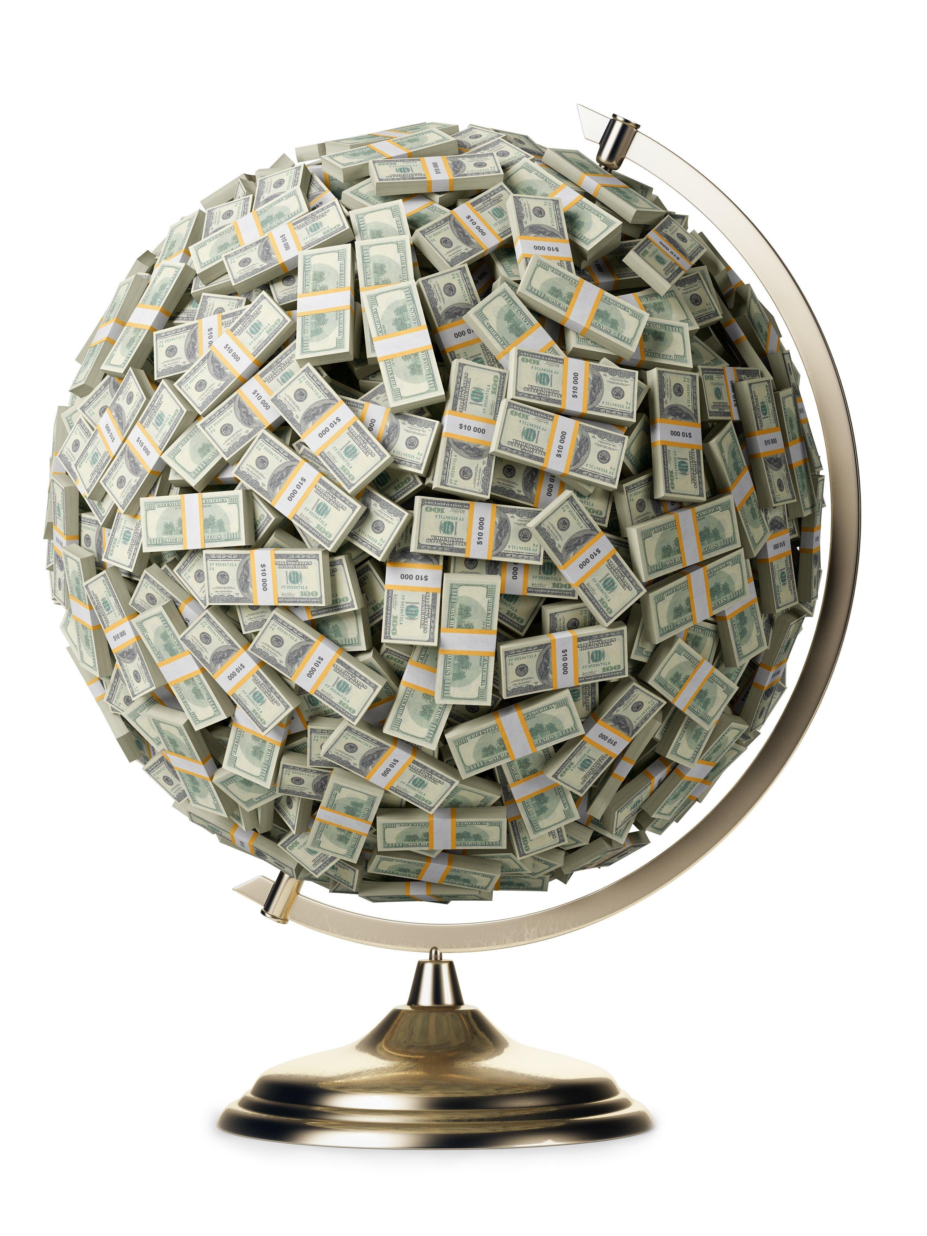 денег в нашем мире